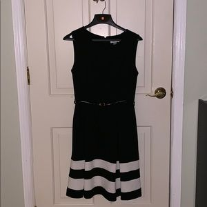 Calvin Klein black dress formal size 10